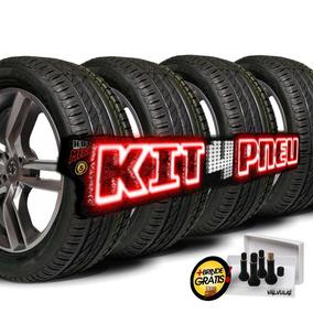 Kit 4 Pneu 225/45 R17 Remold Desenho Bridgestone 5 Anos Gtia