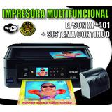 Impresora Multifuncional Epson Xp 401 Con Sistema Continuo
