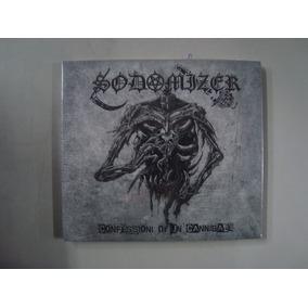 Cd Sodomizer - Confessioni Di Un Cannibale Capinha Digipack