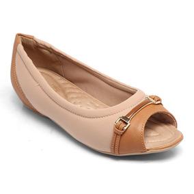 Sapato Comfortflex Napa Caramelo 1876303