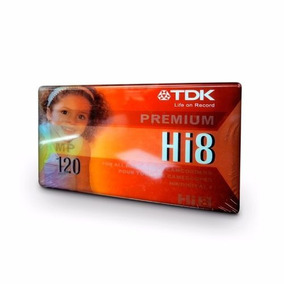 Cassette Tdk Hi8-premium-120 Min-franecdvirgen