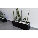 Maceta Jardinera Grande 90cm - Minimalista - Moderna - Acero