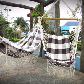 Kit Com 1 Rede Cadeira E 1 Rede De Dormir Casal Frete Grátis