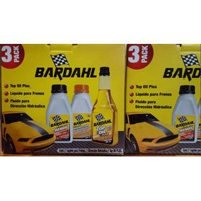 Bardahl 3 Pack, Liquido Frenos Direccion Hidraulica Top Oil
