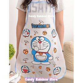 Delantal Mandil Doraemon Molde Kawaii Cocina Hello Kitty