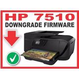 Downgrade Firmware Hp7510 Y Usá Cartuchos Genéricos