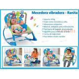 Silla Mecedora Para Bebe Con Vibracion Relajantes Y Musical
