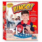 Jogo De Bingo Mini Globo Manivela 48 Cartelas 90 Bolas
