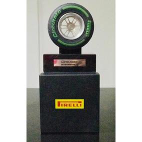 Pneu Miniatura F1 Pirelli Cinturato Caixa Exclusiva Pedesta