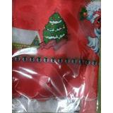 Mantel Navideño Papá Noel Estrellas Navidad