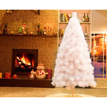 Arvore De Natal Pinheiro Luxo Branca 1,80m C/463galhos