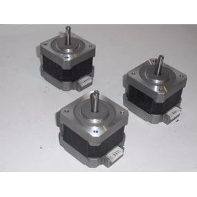 Motores A Pasos Nema 17, De 12v 0.4a. Cnc Profe Garcia