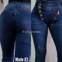 Jeans Pantalon De Dama Con Rotos