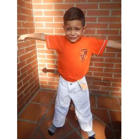 Pantalón Levis De Niño Blanco