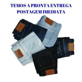 Kit 3 Bermudas Jeans Masculino Lindas Em Até 12x Sem Juros