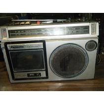 Radiograbadora Vintage Panasonic Casete/radio/aux 80s
