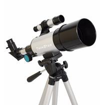 Telescopio Compacto 60mm Color Plateado