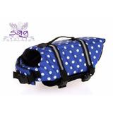 Chaleco Salvavidas Para Perro - Azul