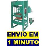 Projeto Máquina De Fazer 3500 Blocos Por Dia Promoção