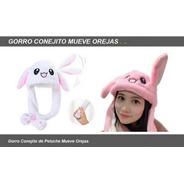 Peluche Gorro Conejo Mueve Orejas Ar1 301 Ellobo