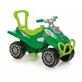 Carrinho Passeio Pedal Quadriciclo Cross Verde Calesita 967