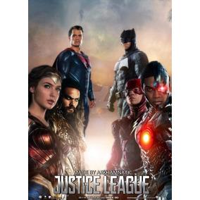 Poster Cartaz Liga Da Justiça