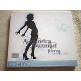 Cd Alejandra Guzman - Fuerza Edicion Especial Cd & Dvd Nuevo