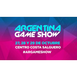 Entradas Argentina Game Show Sábado 28/10/2017