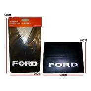 Juego X 4 Barreros Goma Ford 350 / 4000 ( Delanteros + Traseros )