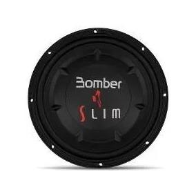 Alto Falante Subwoofer Slim 10p 200 Rms Bomber Bob 4ohms