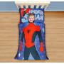 Marvel Spiderman Soy Hombre Araña Del Niño Juego De Cama, M