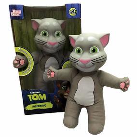 Boneco Gato Talking Tom Repete O Que Você Fala - Baby Brink