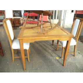 Mesas Cuadradas Antiguas Para Comedor - Muebles Antiguos en Mercado ...