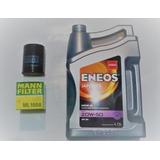 Kit Cambio De Aceite Eneos 20w 50 Para Tsuru 1997 Al 2014