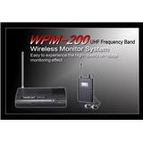 Sistema Monitor Inalambrico In Ears Takstar Wpm-200 Contado