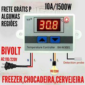 Termostato Digital 110/220v P Freezer,chocadeira,cervejeira