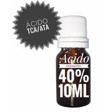 Ácido Ata/tca Tricloroacético 40% 10ml