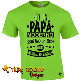 Playera Para Papás, Padres Mod 31 By Tigre Texano Designs