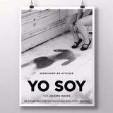 1000 Afiches Publicitarios 32x47, Byn, Papel 115grs. En 24hs