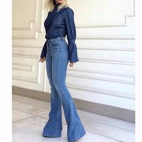 Calça Jeans Flare Bebela Tam 36 E 38