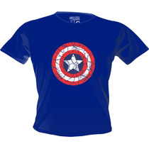 Camiseta Heróis Vilões Capitão América