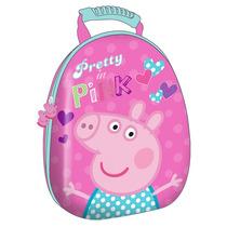 Mochila Escolar 12 De Moda Peppa Pig Pp51917a Rosa Urbania