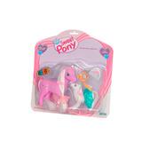 Muñeco The Sweet Pony Grande Con Hijo Ditoys