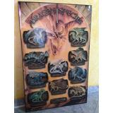 Poster De Tipos De Dragones Ya Enmarcado