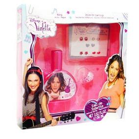 Disney Violetta Set De Regalo Con Eau De Toilette Spray 1 O