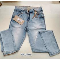 Calça Jeans Feminina Oppnus Skinny Slim Fit Dafne 23341