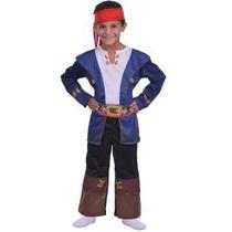 Disfraz Para Nenes Capitán Jake Y Los Piratas Original