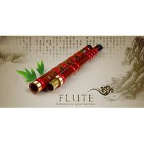 Flauta Chinesa Dizi De Bambu Trad. Repartida Fa (key F)