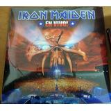 Iron Maiden En Vivo! Musicovinyl Vinilo Eu Envio Gratis