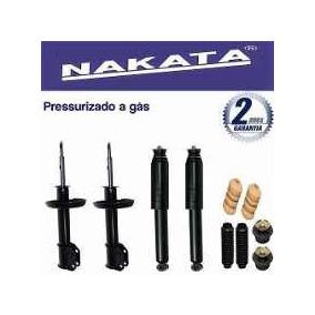 4 Amortecedores Nakata + Kits Gm Corsa Novo Hatch 2002/2012